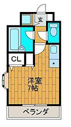 メゾンド・シスネ[3階]の間取り