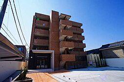 群馬県前橋市総社町植野の賃貸マンションの外観
