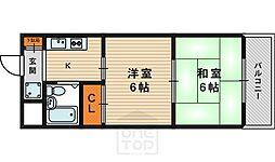 サンシャイン88[5階]の間取り