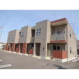 長野県佐久市平塚の賃貸アパートの外観
