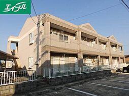 三重県津市久居烏木町の賃貸アパートの外観