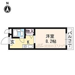 【敷金礼金0円!】NIZE二条城