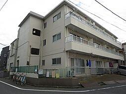 東京都江戸川区鹿骨2丁目の賃貸マンションの外観