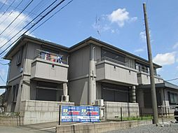 東京都清瀬市中清戸3丁目の賃貸アパートの外観