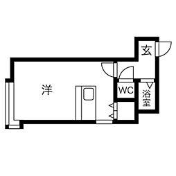 琴似駅 1.9万円