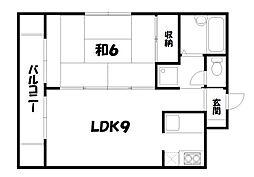 シャトレ・カルム[3階]の間取り