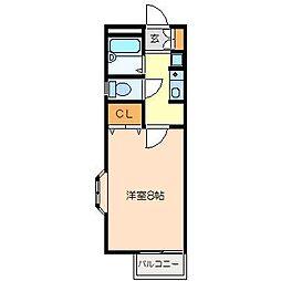 カーサノエ[2階]の間取り