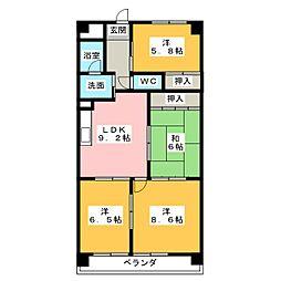 グランドステージ NAKANO[1階]の間取り
