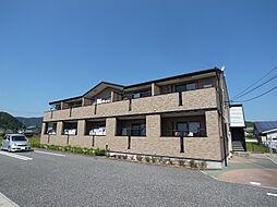 岐阜県山県市東深瀬の賃貸アパートの外観