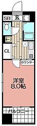 エンクレスト天神東II(1006)[1006号室]の間取り