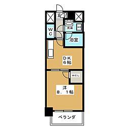 プライムローズ[2階]の間取り