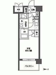 CASSIA高井田NorthCourt[0606号室]の間取り