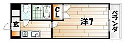 トーケン設計戸畑駅前I[8階]の間取り