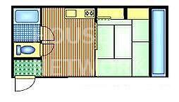 メゾンベルジュール[305号室号室]の間取り