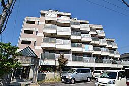 岡山県倉敷市田ノ上の賃貸マンションの外観