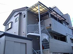 東京都練馬区東大泉2の賃貸アパートの外観