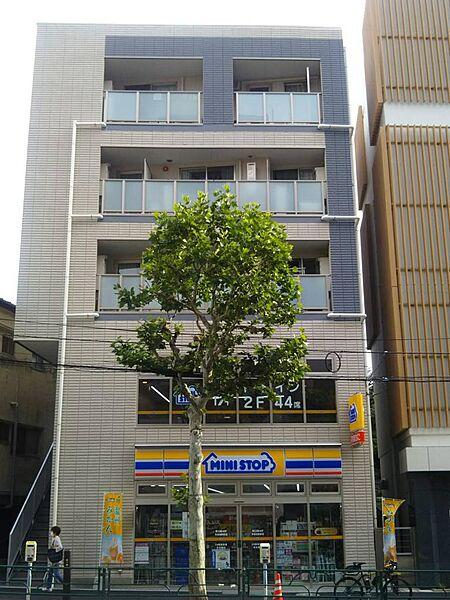 ピークサイドレジデンス早稲田[4階]の外観