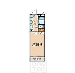 愛知県名古屋市天白区植田南3丁目の賃貸マンションの間取り
