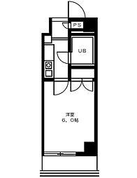 マツキビル[4階]の間取り