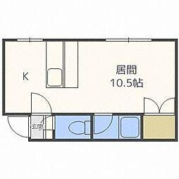 マクセル11/100[1階]の間取り