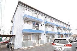 埼玉県越谷市大字増林の賃貸マンションの外観