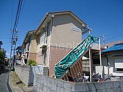 大阪府四條畷市楠公2丁目の賃貸アパートの外観