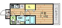 サムティ福島NORTH[4階]の間取り