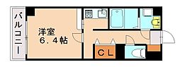 福岡県福岡市城南区友丘2丁目の賃貸マンションの間取り