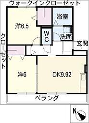 立志舎[3階]の間取り