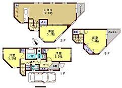 3階建て 参考プラン