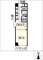 FOUR LEAVES前田[4階]の間取り
