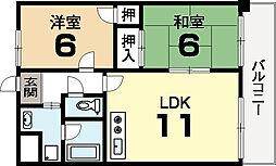 サンステージ15[2階]の間取り