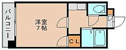 第5マルヤビル[6階]の間取り