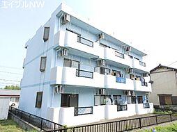 三重県松阪市上川町の賃貸マンションの外観