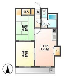 メゾン加藤[3階]の間取り