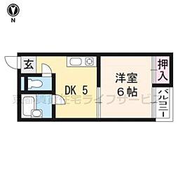 サンシャイン京都[306号室]の間取り