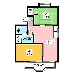 遊夢III[3階]の間取り