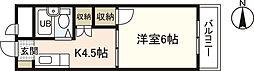 グレイス米田[2階]の間取り