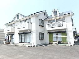 神奈川県座間市新田宿の賃貸アパートの外観