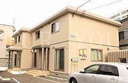 [テラスハウス] 北海道札幌市豊平区中の島一条7丁目 の賃貸【/】の外観