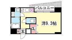 WILL DO 三宮イースト[9階]の間取り