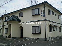 岡山県岡山市東区浅越丁目なしの賃貸アパートの外観