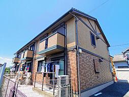 埼玉県狭山市中央2丁目の賃貸アパートの外観