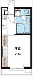 リブリ・ひゅーき[2階]の間取り