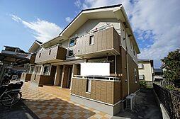福岡県春日市上白水6の賃貸アパートの外観