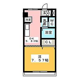 グランドキャニオン[6階]の間取り