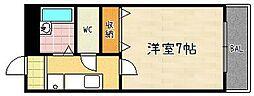 第61長栄エクセレントハイム[202号室]の間取り