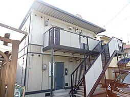 広島県福山市本庄町中4丁目の賃貸アパートの外観