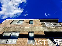 東京都杉並区永福3の賃貸マンションの外観