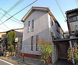 京都府京都市北区紫野上柳町の賃貸アパートの外観
